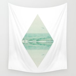Parallel Waves Wall Tapestry