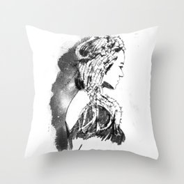 This is not a Rubie Throw Pillow