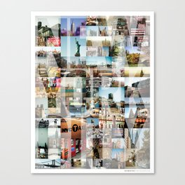 NEW YORK CITY MONTAGE Canvas Print