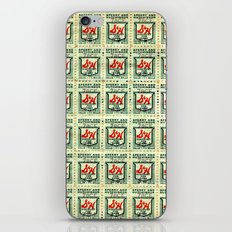 S&H GREEN STAMPS iPhone & iPod Skin