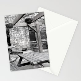 recycled bar terrace Stationery Cards