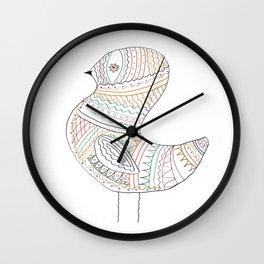 GOLDEN BIRD Wall Clock