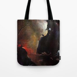 """Hieronymus Bosch """"Visions from the Hereafter - The River to Hell"""" Tote Bag"""