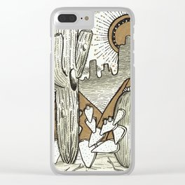 Take me to Tucson Clear iPhone Case