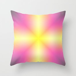 Abstract Cross 13 Throw Pillow