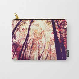 Autumn Red Carry-All Pouch