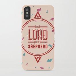 Psalm 23:1 iPhone Case