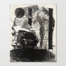 Khaled in an Environment Canvas Print