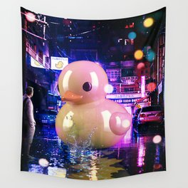 Rubber Duck Alley Wall Tapestry