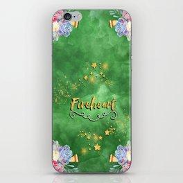 Fireheart iPhone Skin