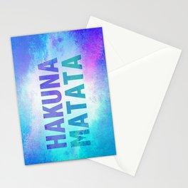Hakuna Matata III Stationery Cards
