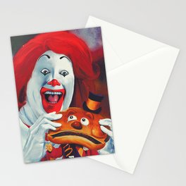 Terror On Cheese Street Stationery Cards