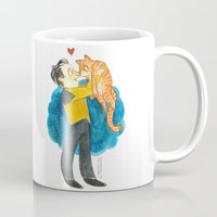 data Mugs featuring Data Hug by Super Group Hugs
