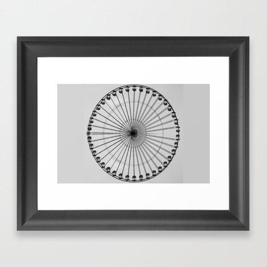 Wheel   (f) Framed Art Print
