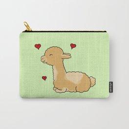 "Alpaca ""Alfie"" Carry-All Pouch"