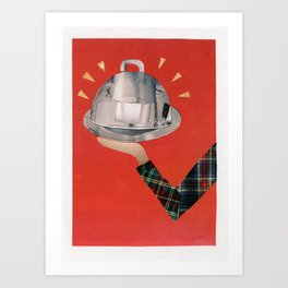 Covered Dish Surprise Art Print