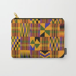 Kente Carry-All Pouch