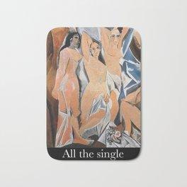 Avignon single ladies Bath Mat