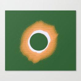 Solar eclipse Poster 4 b Canvas Print