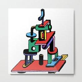 stack piece Metal Print