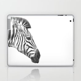 Black and White Zebra Profile Laptop & iPad Skin