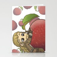 fili Stationery Cards featuring Fili&Apple by ScottyTheCat