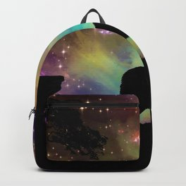Wolf Galaxy Backpack