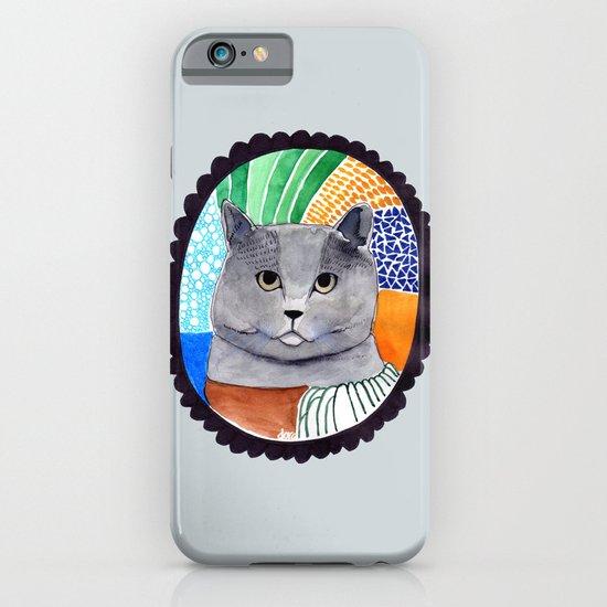 KITTY / GREY iPhone & iPod Case