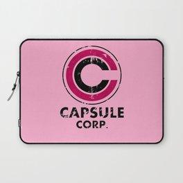Capsule Corp Vintage pink Laptop Sleeve