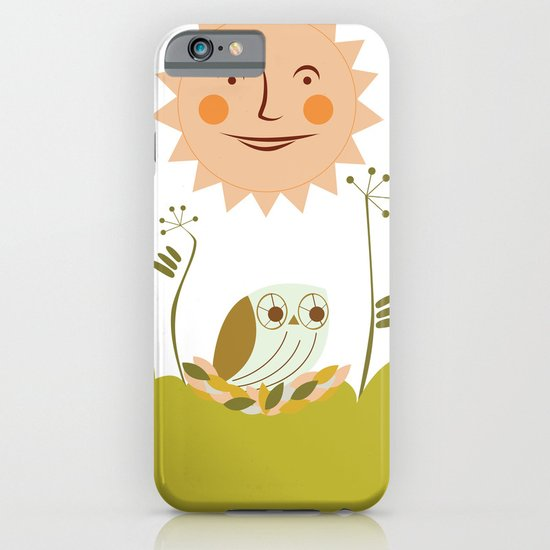 Owl sun iPhone & iPod Case