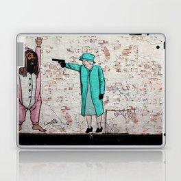 Street Art London Queen Thug Urban Wall Graffiti Artist Prolifik Laptop & iPad Skin