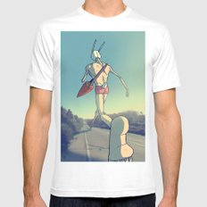 The Giant Conejo MEDIUM Mens Fitted Tee White