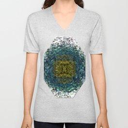 Geode Abstract 01 Unisex V-Neck