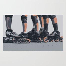 Roller skates Rug