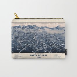 Map Of Santa Fe 1882 Carry-All Pouch