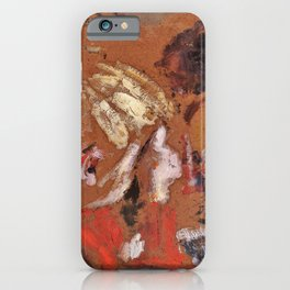 Edouard Vuillard - Children Reading - Digital Remastered Edition iPhone Case