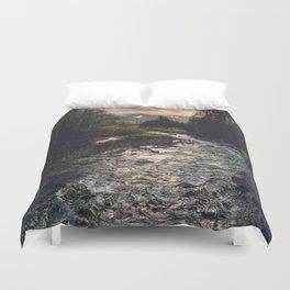 The Sandy River II Duvet Cover