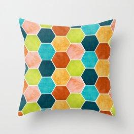 Modern Moroccan Pattern Throw Pillow
