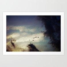 For Love of Sky Art Print