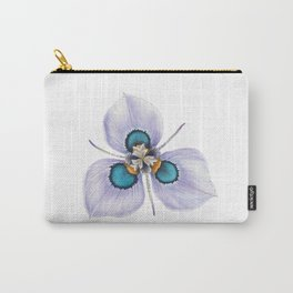 Flower Painting | MORAEA VILLAS | Watercolour | Nature Carry-All Pouch