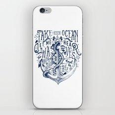 OCEAN IS CALLING iPhone & iPod Skin