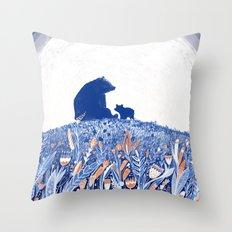 MELANCHOLIA Throw Pillow