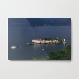 Busy Day On Lake Maggiore Metal Print