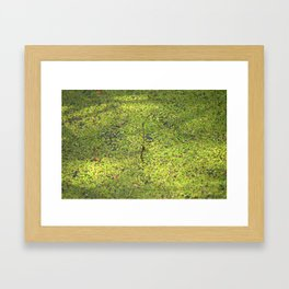 On the surface Framed Art Print