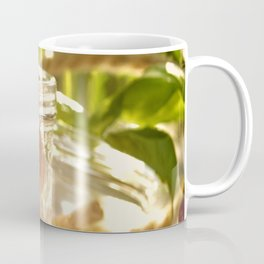 Fresh cherrie in glass Coffee Mug