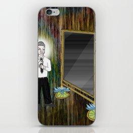 The Empty Mirror iPhone Skin