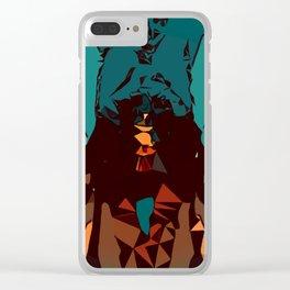 Mountain Dawn Clear iPhone Case