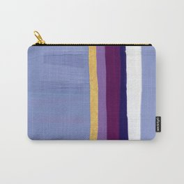 Violet purple Carry-All Pouch
