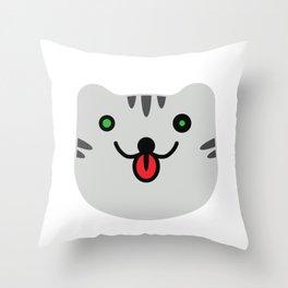 Cat?Tiger? Throw Pillow