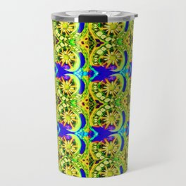 Circle design number 6 Travel Mug